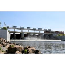 Обследование гидротехнического сооружения