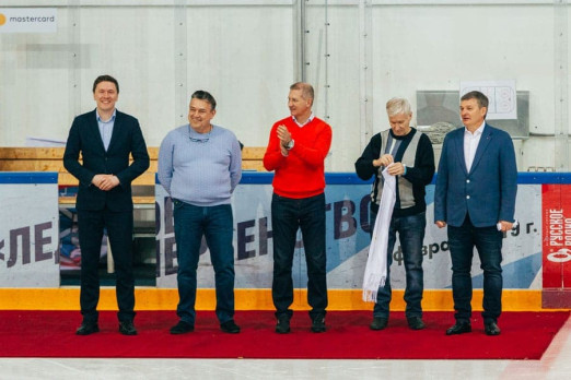 Хоккей объединил друзей